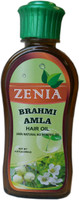 Zenia Brahmi Amla Hair Oil 100% Natural No Mineral Oil 200ml