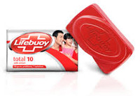 1 x Lifebuoy (Total 10) Bar Soap 80g