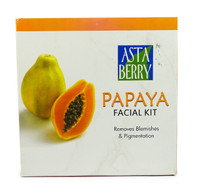 AstaBerry Papaya Single Use Facial Kit