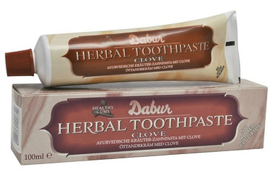 Dabur clove tooth paste 100gclove has been used for many years as a