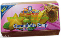 Carambola Soap with honey the herbal whitening soap