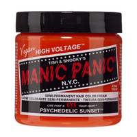 Manic Panic Psychedelic Sunset Classic Semi-Permanent Hair Dye Color Cream 4 Oz