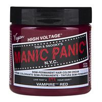 Manic Panic Vampire Red Classic Semi-Permanent Hair Dye Color Classic Cream 4 Oz