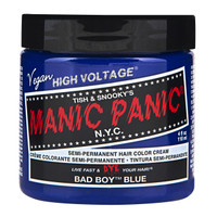 Manic Panic Bad Boy Blue Classic Semi-Permanent Hair Dye Color Cream 4 Oz
