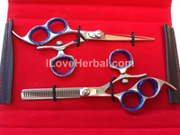 Lefty 18LHJ3Pair2B  Swivel Thumb Hair Cutting Thinning Shears Scissor Pair