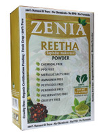 100g Zenia Aritha Reetha Powder Box