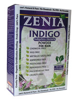 100g Zenia Indigo Powder Box 2016 Crop