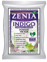 New Zenia Indigo Powder Hair Natural Black Hair Dye 2017 Crop