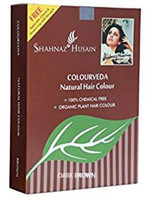 DARK BROWN - Shahnaz Colorveda Organic Natural Henna Indigo Hair color Dye