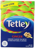 tetley ginger tea