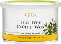 Gigi Tea Tree Cream Wax 14oz #0240