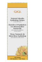 Gigi Natural Muslin Waxing Strips Small #0600