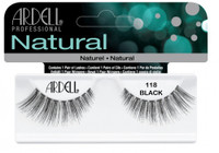 Ardell Natural 118 Black Lashes #65091
