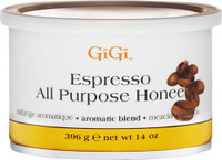 Gigi Espresso All Purpose Honee Wax 14oz #0252
