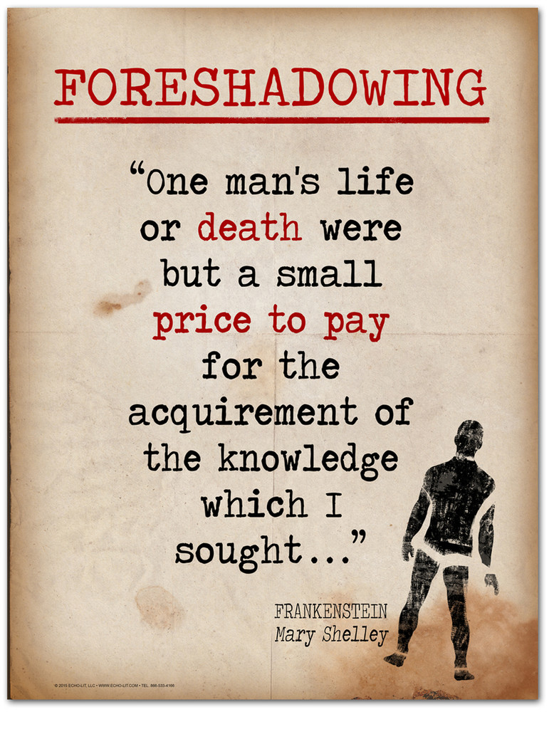 Foreshadowing-Literary Terms