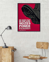 Nineteen Eighty Four, George Orwell Quote Poster Set