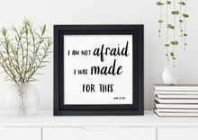 Made for This - Joan of Arc Spiritual Art Print For Dorm, Nursery, or Home.