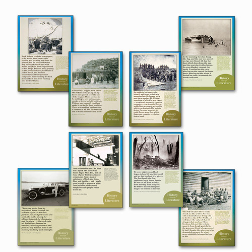 History Through Literature Poster Set