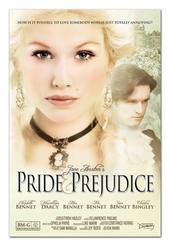 Pride & Prejudice Literary Movie Poster