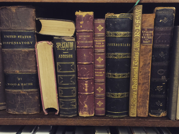 My Infatuation with Vintage Books