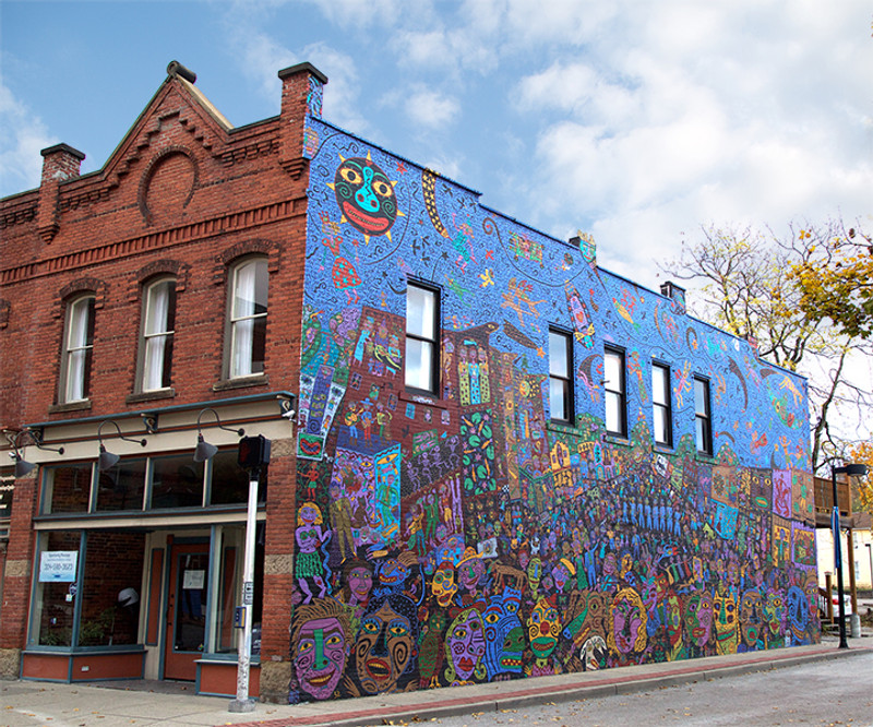 Five Coolest Murals in Charleston, WV