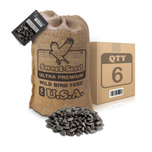 5LB. BEST DAMNED BLACK OIL SUNFLOWER SEED CASE (QTY 6)