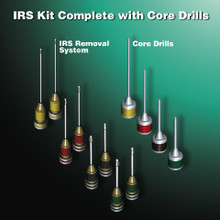 IRS® Instrument Removal System 8 pcs + Core Drills 4 pcs