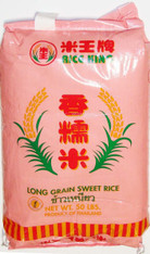 02001	LONG GRAIN SWEET RICE THAI	RICE KING 50 LB