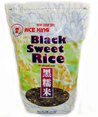 02010	BLACK SWEET RICE	RICE KING 10/4.4 LBS