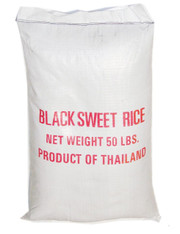02083	BLACK SWEET RICE	RICE KING 50 LBS