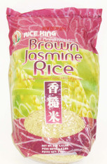 02168	BROWN JASMINE RICE	RICE KING 10/4.4 LB