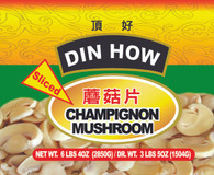 11665	MUSHROOM L W/SLICED (53 OZ)	DIN HOW 6/A10