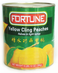 12012	YELLOW CLING PEACHES HALF	FORTUNE 6/A10