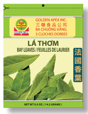 21314	BAY LEAVES	GOLDEN BELL #314 50/0.5 OZ