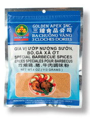 21337	SPECIAL BARBEQUE SPICES	GOLDEN BELL #309 50/4 OZ