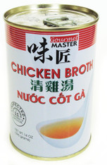 21998	CHICKEN BROTH	GOURMET MASTER 12/14 OZ