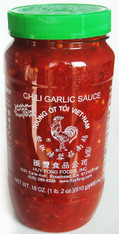 24005	CHILI GARLIC SAUCE	HUY FONG 12/18 OZ