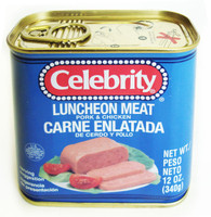 31377	LUNCHEON MEAT	CELEBRITY 12/12 OZ