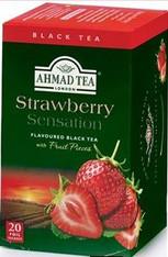 33238AHMAD TEA STRAWBERRYAHMAD #700 6/20 CT FOIL BAGS