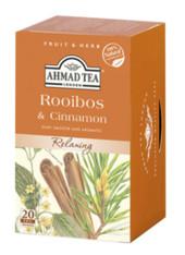 33240AHMAD TEA ROOIBOS&CINNAMONAHMAD 6/20 CT FOIL BAGS