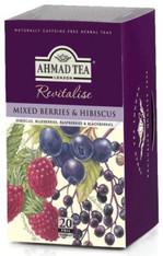 33244AHMAD TEA MIXED BERRIESAHMAD #005 6/20 CT FOIL BAGS