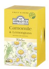33245AHMAD TEA CAMOMILE & LEMONGRASAHMAD #006 6/20 CT FOI