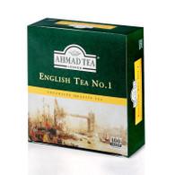 33252AHMAD ENGLISH NO.1 100 TEABAGAHMAD #598 24/100CT TAG