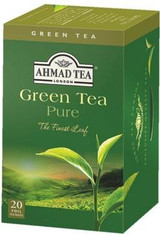 33253AHMAD TEA ORIGINAL GREEN TEAAHMAD #894 6/20 CT FOIL