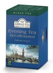 33260AHMAD TEA DECAFF EVENING TEAAHMAD #847 6/20 CT FOIL