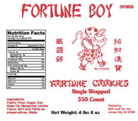 43255	FORTUNE COOKIES SNGL WRAP	FORTUNE BOY 350 PCS