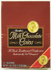 43386	MILK CHOCOLATE GOLD COINS	FRANKFORD 4/12MESH/2OZ