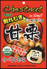 43502	CHESTNUT IN SHELL SNACK	LORAIN 30/120 GM