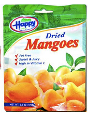 43751	DRIED MANGOES	HAPPY VALLEY 2/12/100 G