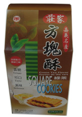 45957	GREEN TEA COOKIES	CHUANG JIA 12/430 GM